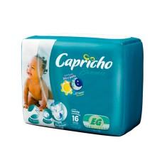 Fralda Capricho Bummis Tamanho XG Econômica 16 Unidades Peso Indicado 13 - 15kg