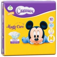 Fralda Cremer Disney Baby Magic Care Tamanho M Hiper 72 Unidades Peso Indicado 5 - 10kg