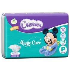 Fralda Cremer Disney Baby Tamanho P 44 Unidades Peso Indicado Até 6kg