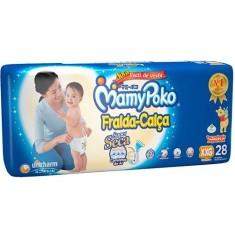 Fralda de Vestir MamyPoko Fralda-Calça Tamanho XXG Mega 28 Unidades Peso Indicado 15 - 25kg