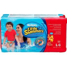 Fralda para Piscina e Mar Huggies Little Swimmers Tamanho G 10 Unidades Peso Indicado +14kg
