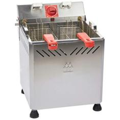 Fritadeira 25 Litros Água e Óleo Marchesoni Inox