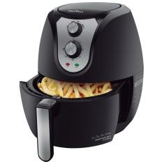 Fritadeira Elétrica Sem óleo Britânia Air Fry Pro Saúde 06380 Capacidade Total 3,2l Timer com desligamento automático