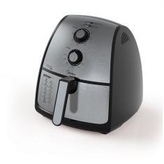 Fritadeira Elétrica Sem óleo Midea FXA4 4l Inox
