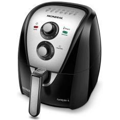 Fritadeira Elétrica Sem óleo Mondial Air Fryer Family AFN-40-BI 4l Inox