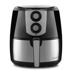 Fritadeira Elétrica Sem óleo Philco Air Fryer Air Fry Jumbo PFR06PI 5,5l Inox