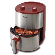 Fritadeira Elétrica Sem óleo Philco Air Fryer Redstone PFR10VI 3,2l Inox