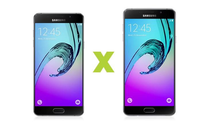 Galaxy A5 2016 vs Galaxy A7 2016: veja as diferenças