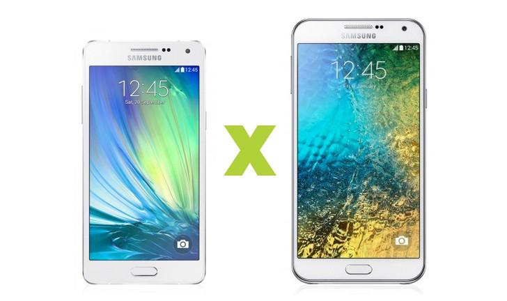 Galaxy A5 ou Galaxy E7: Duas ótimas escolhas