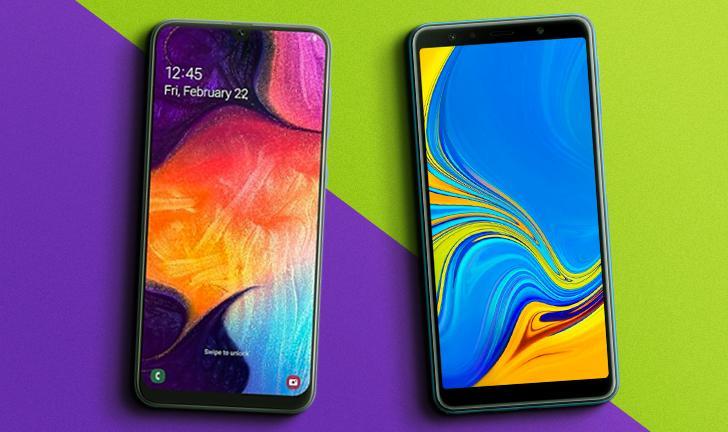 Galaxy A50 vs Galaxy A7 (2018): qual é o melhor celular Samsung com câmera tripla