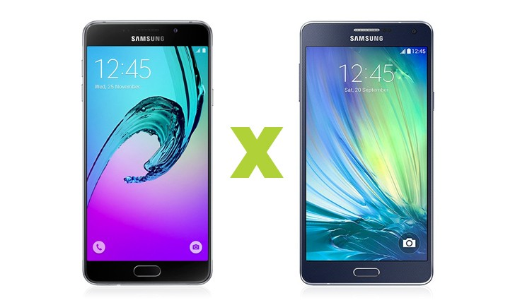 Galaxy A7 2016 vs Galaxy A7 2015: saiba o que mudou