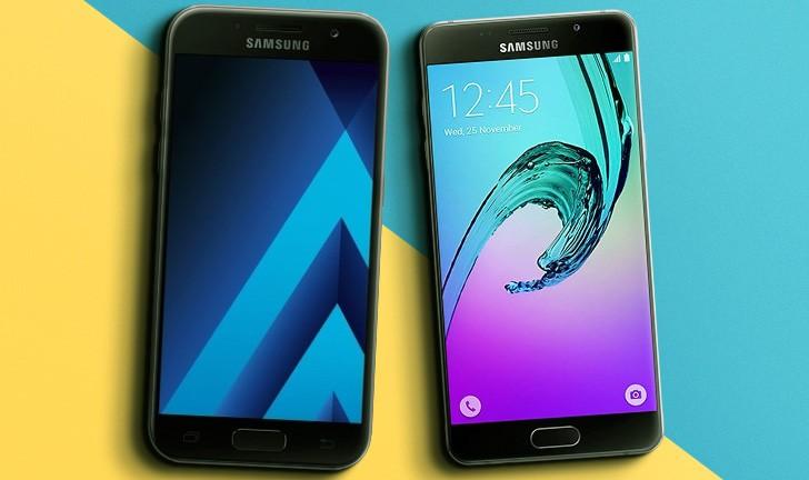 Galaxy A7 2017 vs Galaxy A7 2016: quais as diferenças entre estes celulares Samsung?