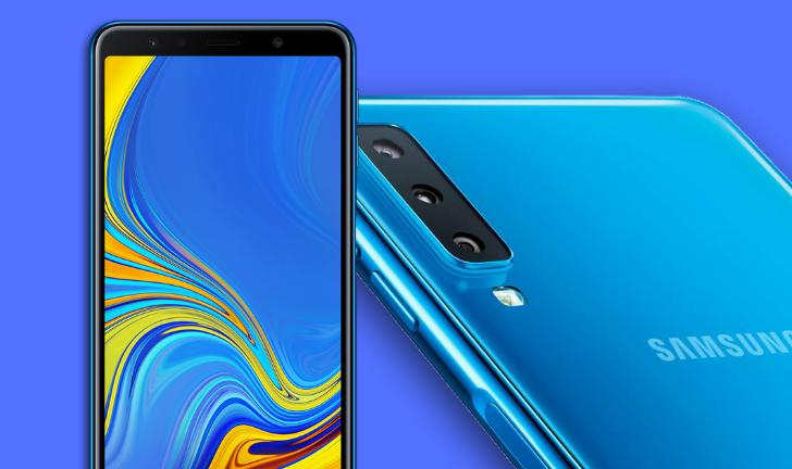 Galaxy A7 2018 é o novo celular da Samsung com câmera tripla; veja preço e ficha técnica