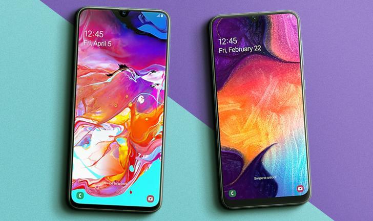 Galaxy A70 vs A50: compare preço e ficha técnica dos celulares Samsung