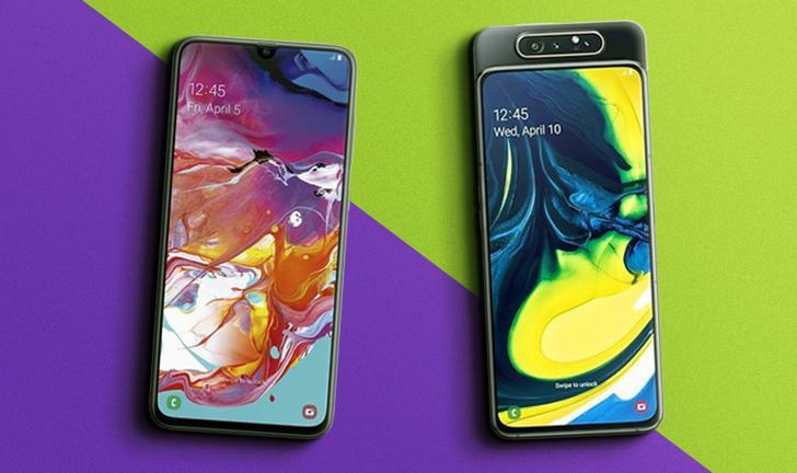 Galaxy A70 vs A80: compare preço e ficha técnica dos celulares Samsung