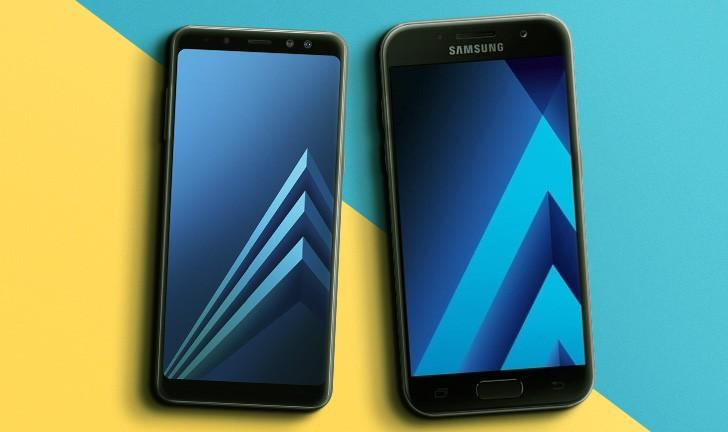 Galaxy A8 vs Galaxy A7: veja o que mudou na linha Galaxy A