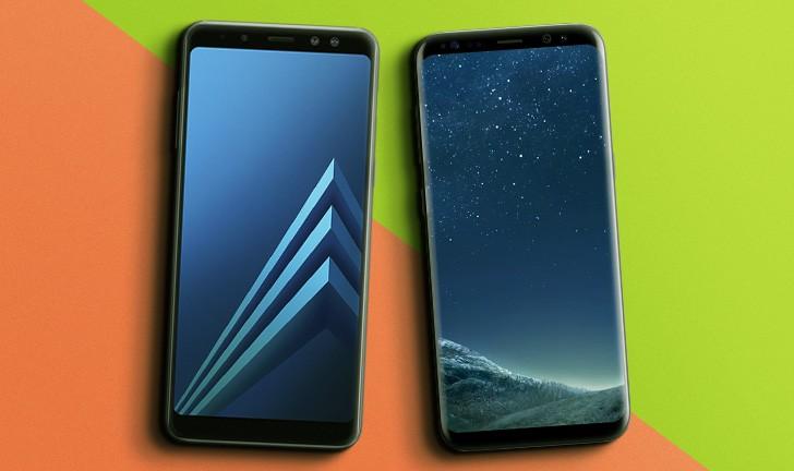 7d0efece2 Galaxy A8 vs Galaxy S8  descubra as diferenças no comparativo