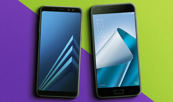 Galaxy A8 vs Zenfone 4: qual intermediário vale mais a pena?