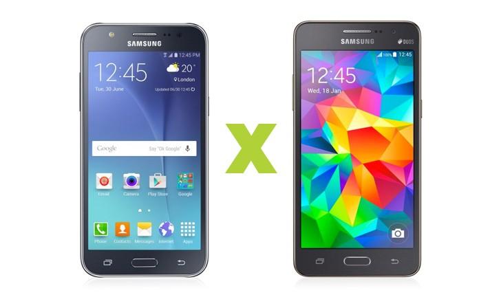 Galaxy J5 ou Gran Prime Duos: qual smartphone com bom custo/benefício comprar?