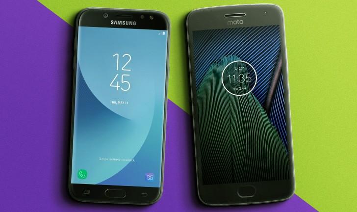 Galaxy J5 Pro vs Moto G5 Plus: quem leva a melhor?