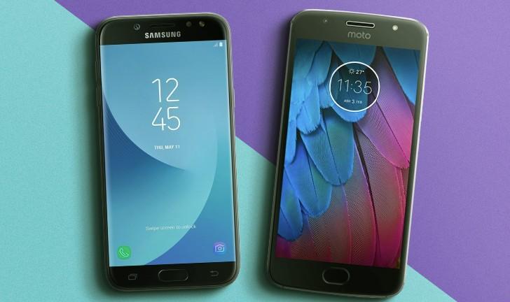 Galaxy J5 Pro vs Moto G5S: um duelo entre intermediários