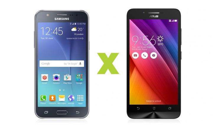 Galaxy J5 vs Zenfone Go: qual smartphone intermediário escolher?