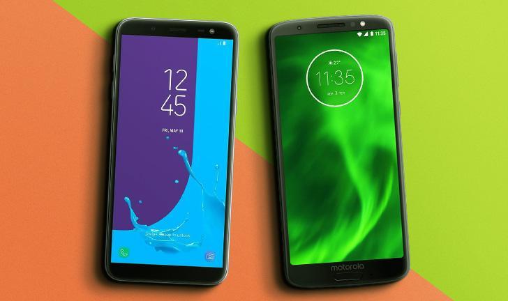 Galaxy J6 vs Moto G6: Compare as fichas técnicas dos smartphones intermediários