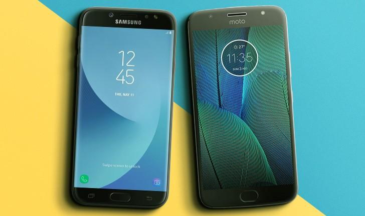 Galaxy J7 Pro vs Moto G5S Plus: entenda as diferenças