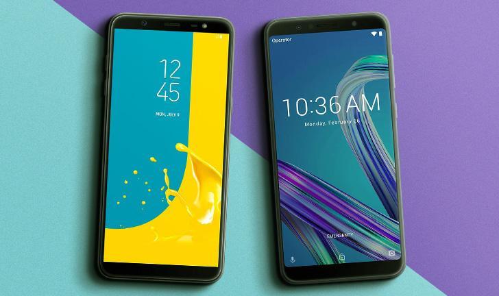 Galaxy J8 vs Zenfone Max Pro: Samsung e Asus brigam pela sua preferência