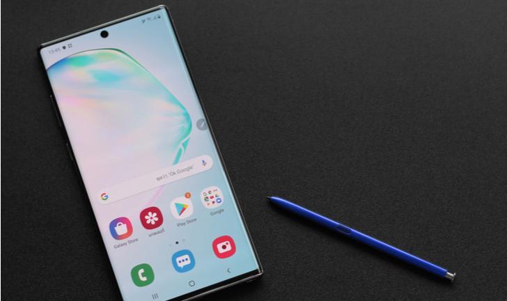 Galaxy Note 10 Plus é o celular com a melhor tela do mercado, diz DisplayMate