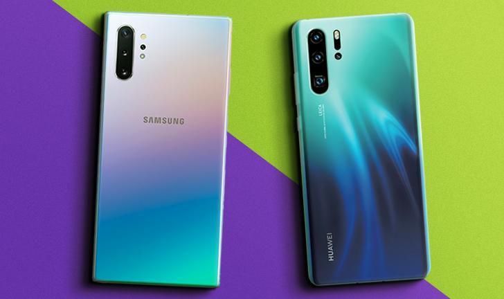 Galaxy Note 10 Plus vs Huawei P30 Pro: compare os celulares com 4 câmeras