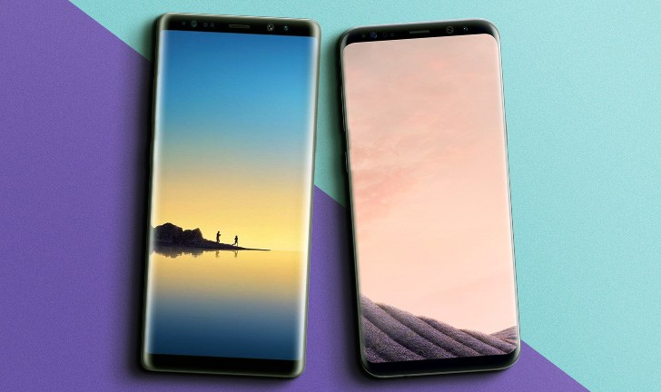 Galaxy Note 8 vs Galaxy S8 Plus, Galaxy S8 Plus vs Galaxy Note 8