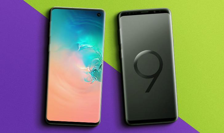 Galaxy S10 vs Galaxy S9: o que muda no celular top de linha
