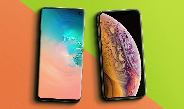 Galaxy S10 vs iPhone XS: qual é o melhor celular top de linha?