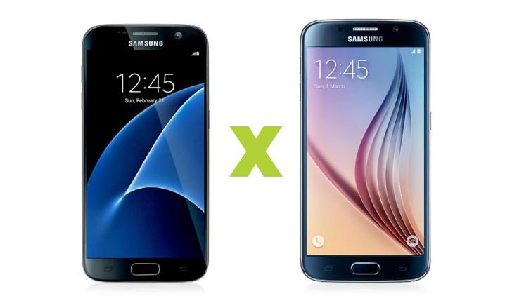 Galaxy S7 vs Galaxy S6: veja as diferenças entre os celulares Samsung