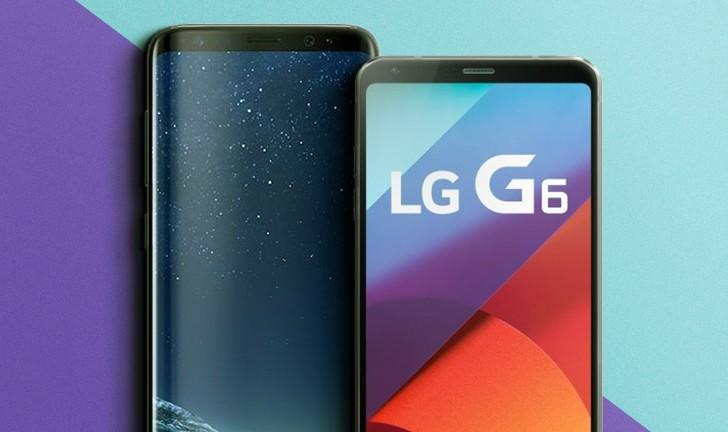 Galaxy S8 vs LG G6: uma comparação entre tops de linha