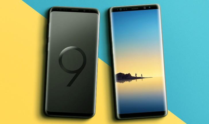 978f0c60f Galaxy S9 Plus vs Galaxy Note 8  um comparativo entre dois smartphones top  de linha