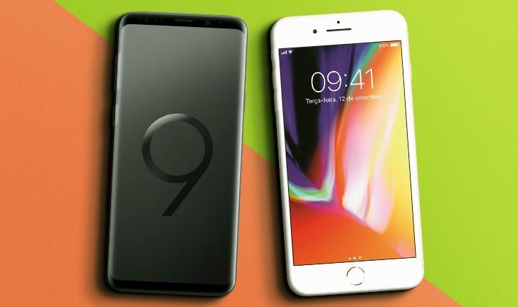 Galaxy S9 Plus vs iPhone 8 Plus: qual é o melhor smartphone top de linha?