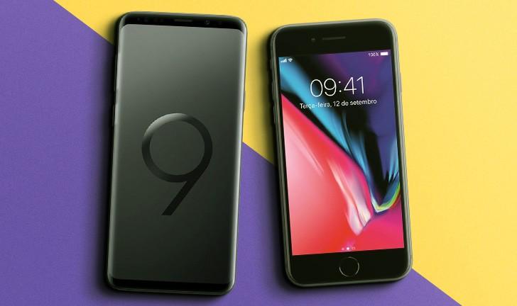 Galaxy S9 vs iPhone 8: comparativo revela qual o melhor celular!