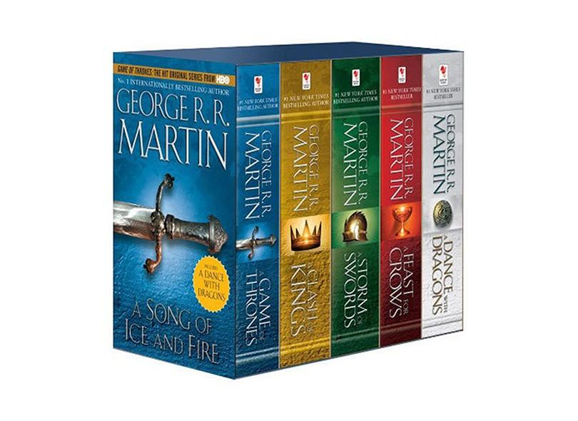 Game Of Thrones Box Set 5 Books George R R Martin 9780345540560 Economize Com Bondfaro