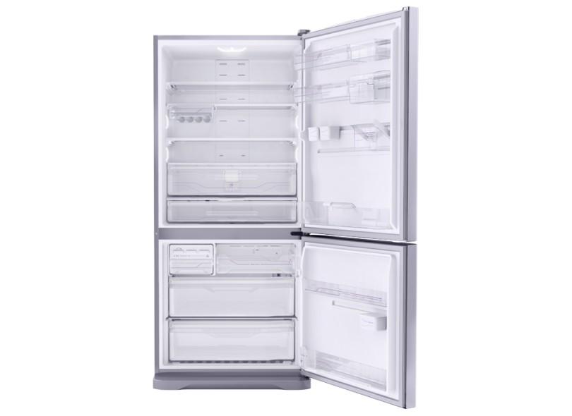 0b2f9addf Geladeira Electrolux Bottom Freezer 598 Litros DB83X Inox