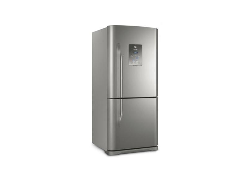 6f4e4512d Geladeira Electrolux Bottom Freezer 598 Litros DB84X Inox
