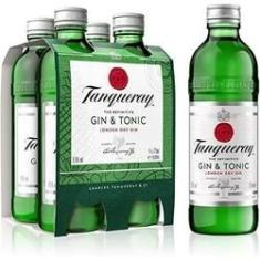 Gin Tanqueray & Tonic Pack C/4X275 ml