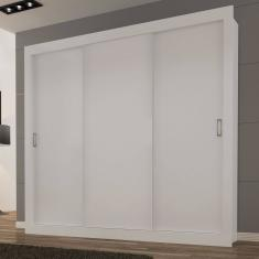 Guarda-Roupa Casal 3 Portas Smart Siena Móveis