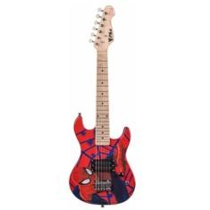 Guitarra Elétrica Phoenix Marvel Spider Man GMS-K1