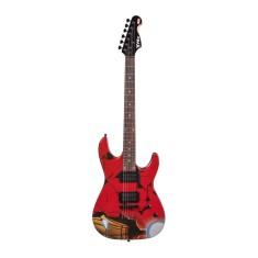 Guitarra Elétrica Stratocaster Phoenix Iron Man HGMI-1