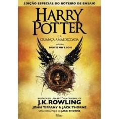 Harry Potter e a Criança Amaldiçoada - Parte Um e Dois - Capa Dura - J. K. Rowling - 9788532530431