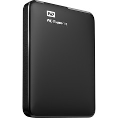 Foto HD Externo Portátil Western Digital Elements WDBBEP0010BBL 1 TB