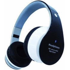 Foto Headphone Bluetooth Favix com Microfone