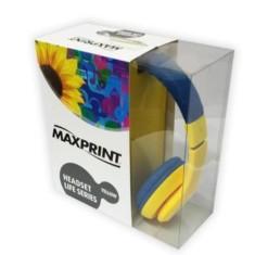 Headphone com Microfone Maxprint LIFE SERIES